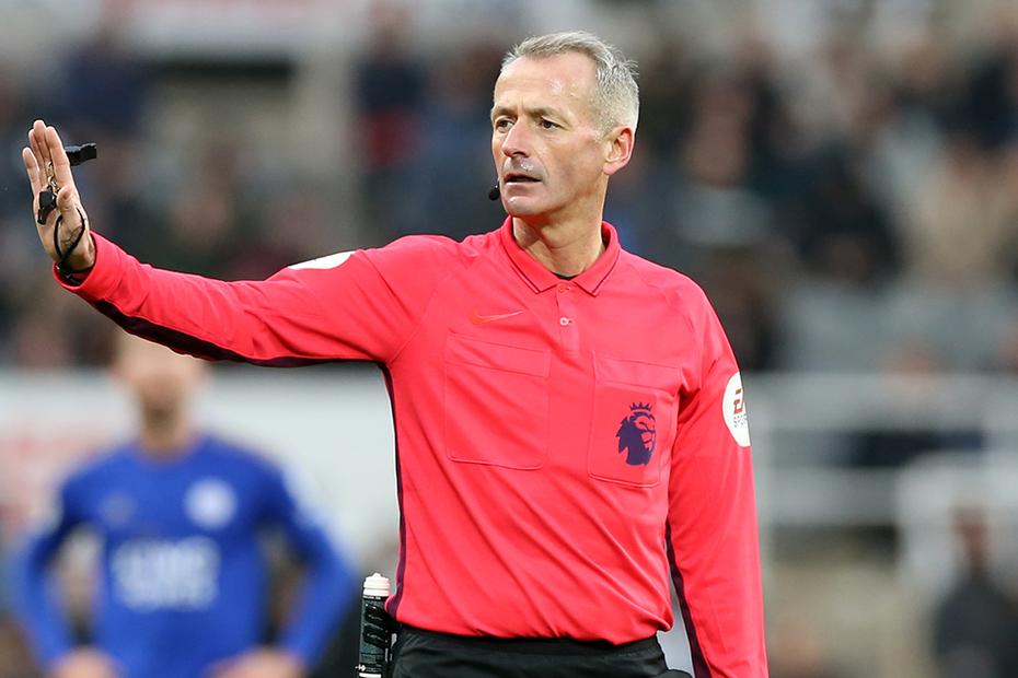 英超第22轮裁判安排:阿特金森执法炎刺对阵利物浦