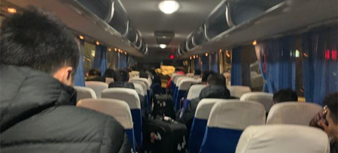 广东队赴京转乘高铁赶往山东,北京队派出大巴接送