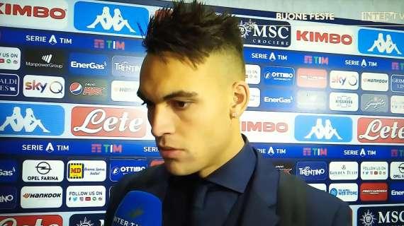 劳塔罗:很自豪能为国米效力;我和卢卡库都想帮球队取胜