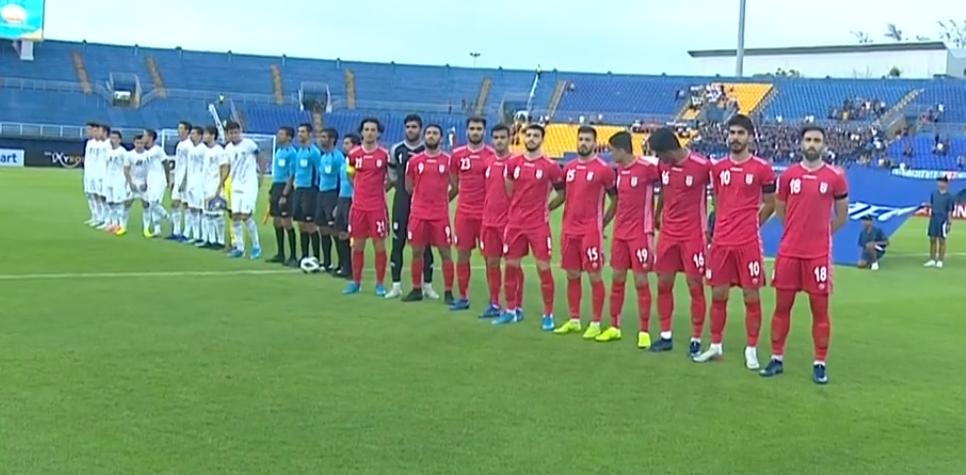 U23亚洲杯C组,伊朗超级空门不进,乌兹别克斯坦1-1伊朗