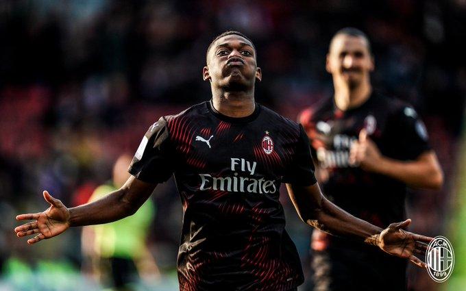 GIF:下半时带球进场!莱昂破门,米兰1-0领先卡利亚里