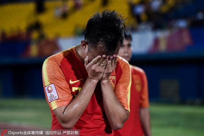 二图流:国奥0-1伊朗遭遇三连败,黄政宇赛后掩面哭泣