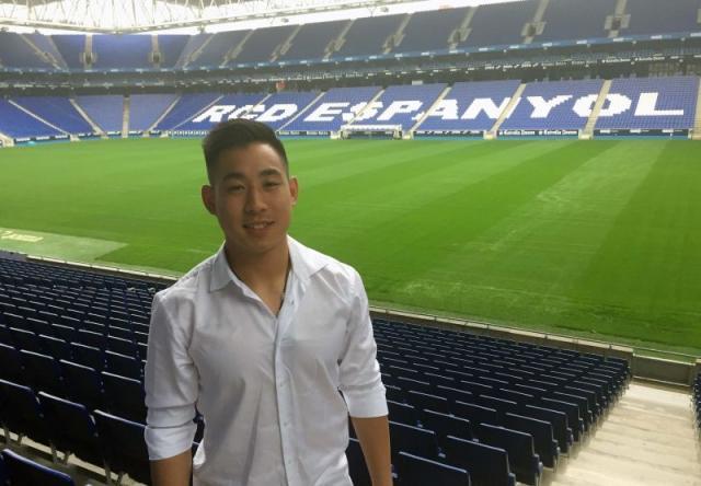 揭秘试训重庆华裔球员:中文名黄振声,曾效力西班牙人