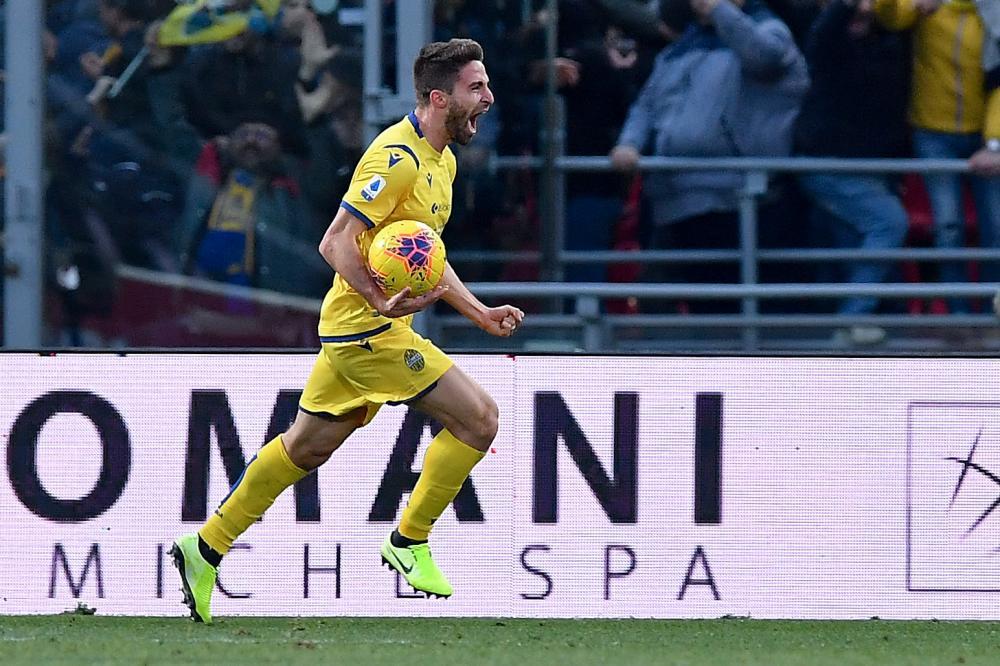 首次出场就进球,经纪人:高兴博里尼能在维罗纳再当前锋