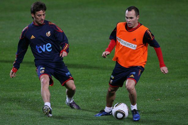 西班牙三大传奇齐赞大卫-席尔瓦,小白:他是最佳球员之一