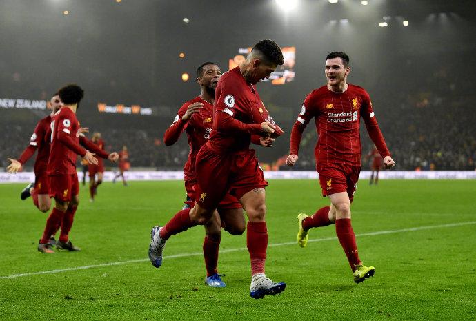 势不可挡!利物浦本赛季联赛胜场已追平三冠王时代曼联