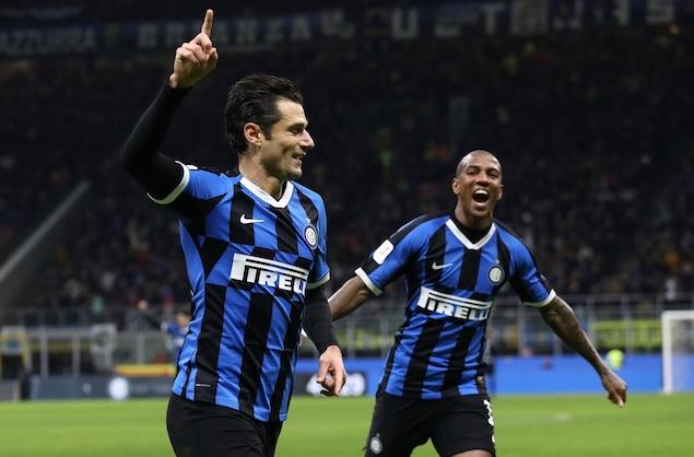 意大利杯:坎德雷瓦巴雷拉齐破门,国米2-1佛罗伦萨