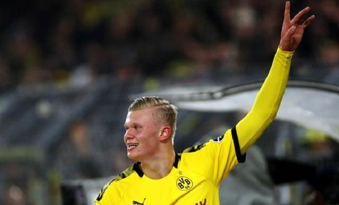 萨尔茨堡主管:训练中哈兰德进球后,他开心得像个孩子