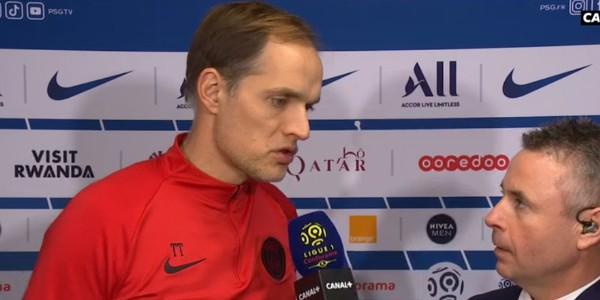 图赫尔谈换下姆巴佩:我们不是在打网球,而是在踢足球
