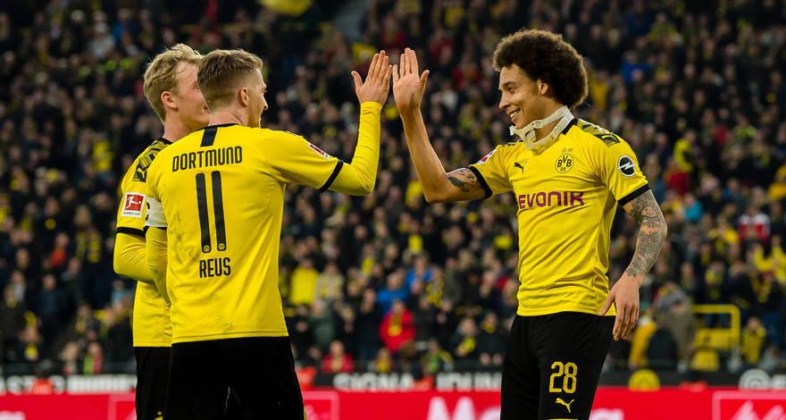 多特蒙德是德甲本赛季至今唯一主场不败的球队