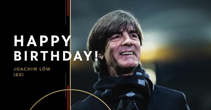 60大寿!德国足协和拜仁祝福勒夫60岁生日快乐