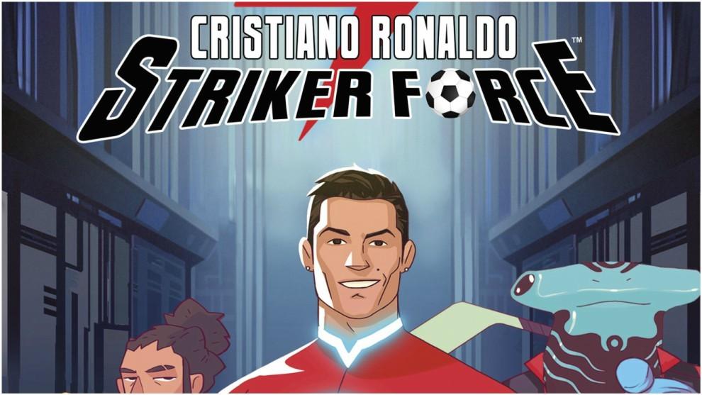 C罗漫画今日在西班牙发售,变身超级英雄维护世界和平