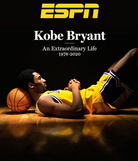 ESPN将于本周五发行一期专为科比的纪念特刊