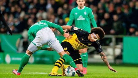 重蹈覆辙!多特连续两年德国杯1/8决赛遭不莱梅淘汰