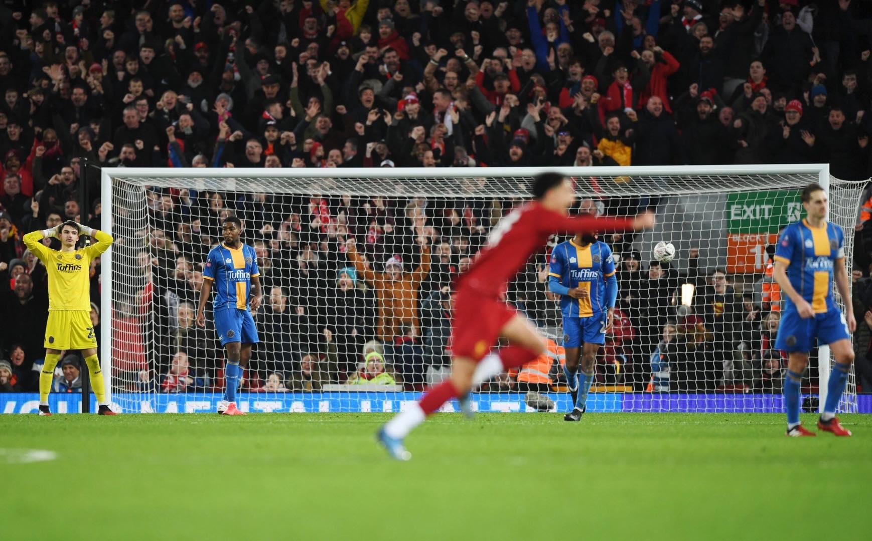 魔鬼主场!利物浦在安菲尔德连续40场不败,近7场0丢球
