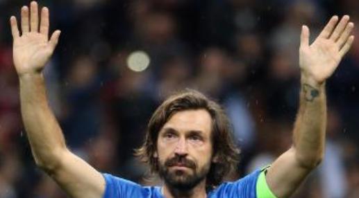 官方:皮尔洛入选意大利足球名人堂,卢卡库获阿斯托里奖