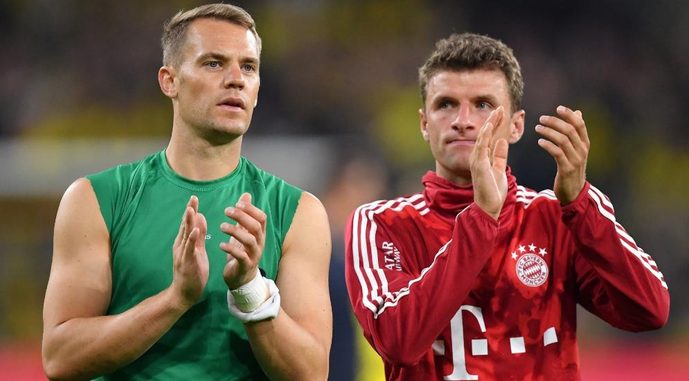 踢球者:拜仁只和30岁以上球员续一年北京快三官网,但穆勒诺伊尔例外