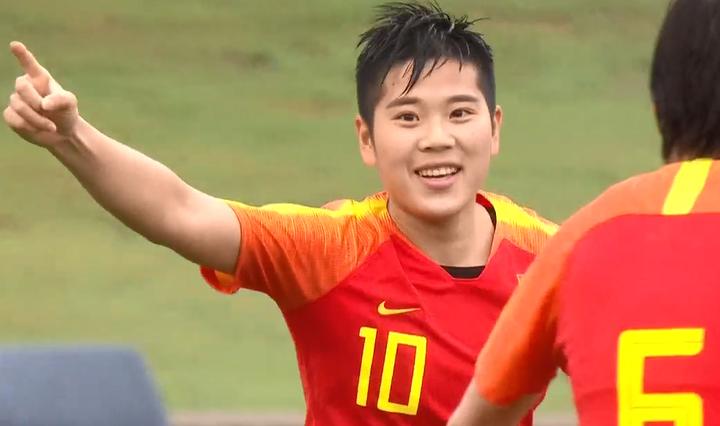 GIF:666啊!李影第66分钟梅开二度,女足6-0泰国