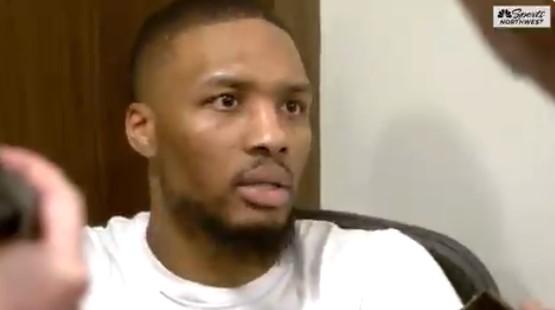 利拉德:我不想看什么裁判报告,我们努力想打进季后赛