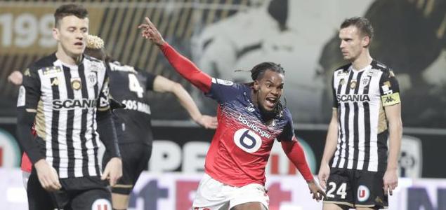 法甲:桑谢斯建功,里尔客场2-0擒昂热
