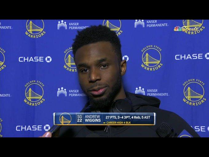 威金斯:想坚持防卫的持续性,想去防对方最强球员