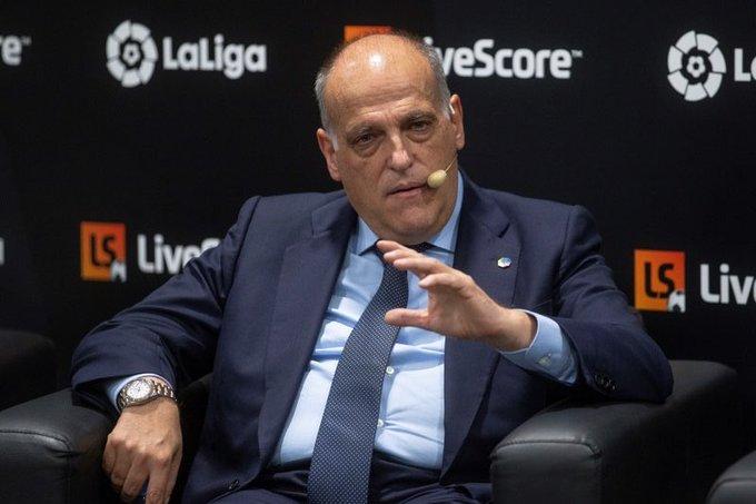 Laliga主席支持欧足联禁赛曼城:正义来得虽晚但总算到了