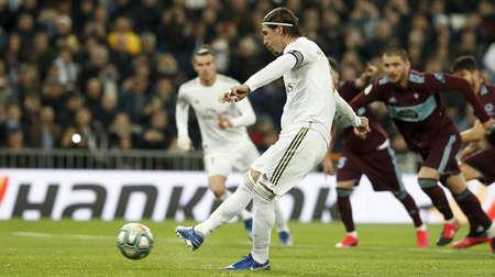 若再进一球,拉莫斯将追平科曼成为西甲进球最多的后卫
