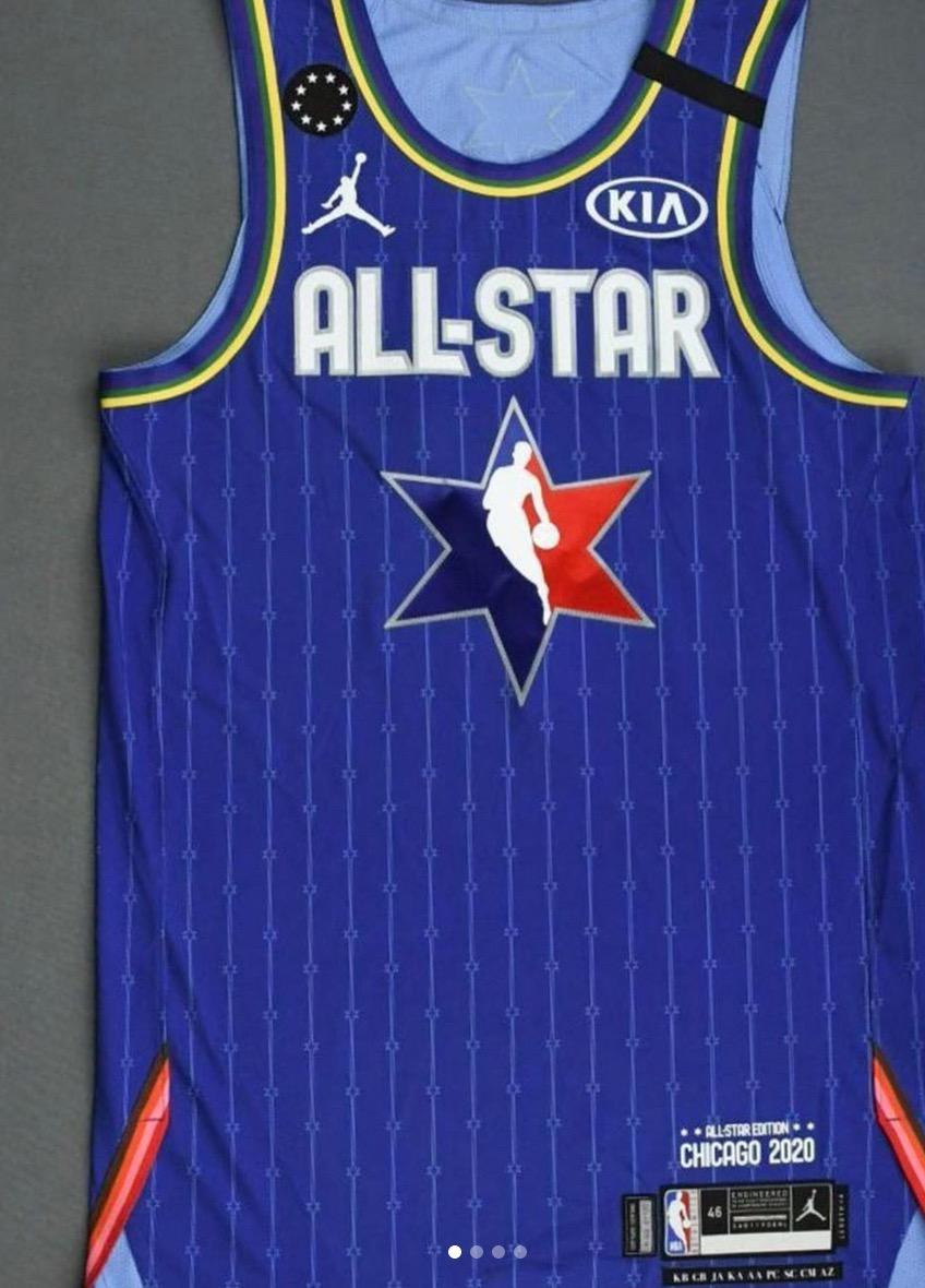 NBA将芝加哥全明星球衣拍卖所得全部收益捐给曼巴基金会