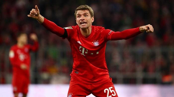 穆勒:最近拜仁的状态不错,要在踢切尔西时继续下去