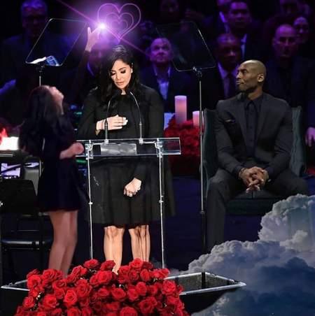 Snoop Dogg公布Vanessa致辞合成图:他们会永远伴你左右