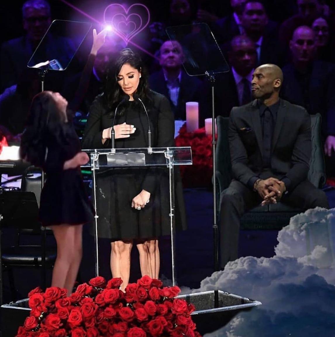 Snoop Dogg发布Vanessa致辞合成图:他们会永远伴你左右