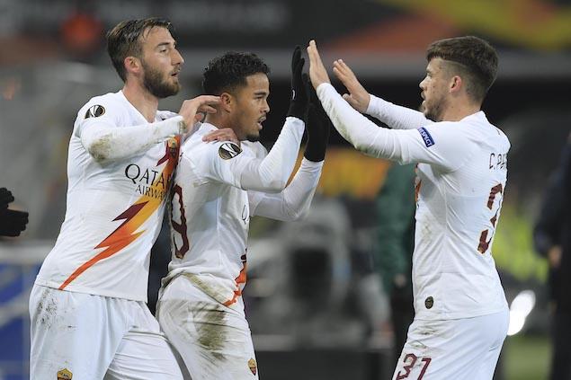 欧联:克鲁伊维特破门,罗马客场1-1根特两回合2-1晋级