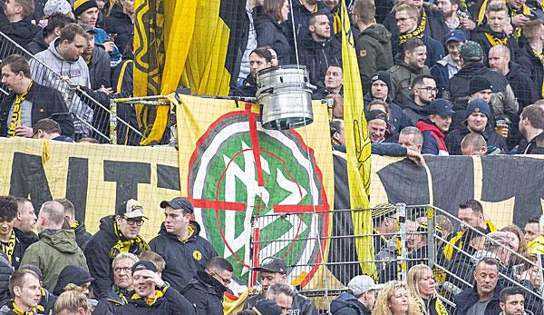 德媒:多特科隆球场也在辱骂霍普和足协,险些弃赛收场