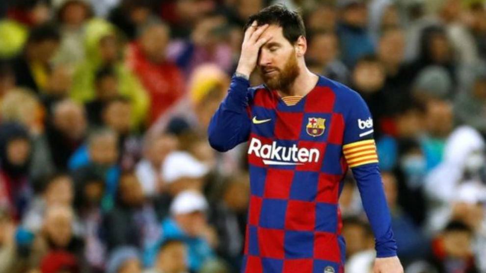 前阿根廷门将:梅西在对阵皇马时表现得像个已退役的球员  足球话题区