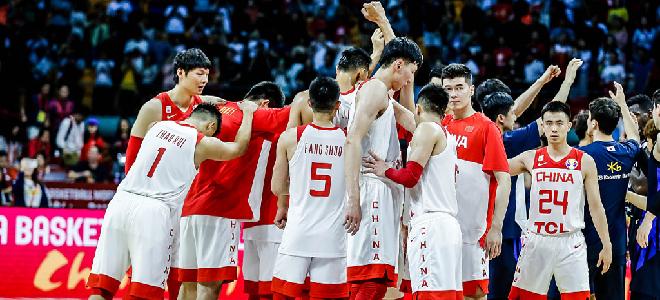 FIBA公布新一期世界排名:中国男篮下跌一位排名第28