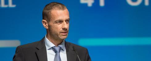 欧足联主席:正关注疫情发展,目前没有比赛被取消