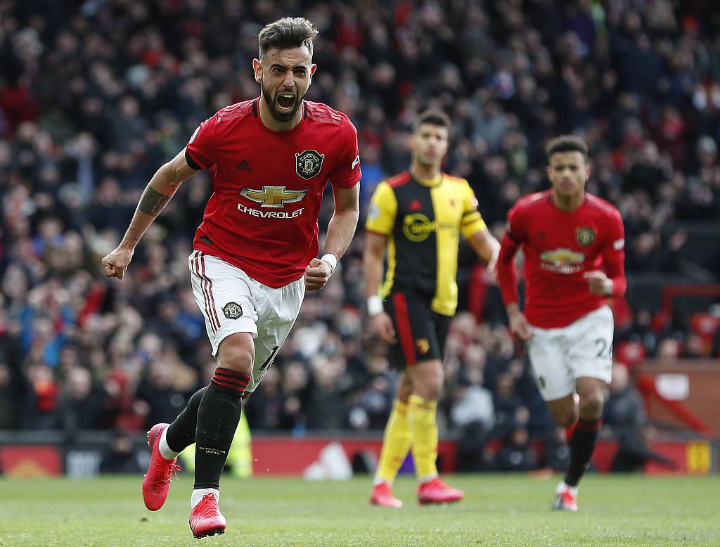 英超二月最佳阵容:曼联4人入选、利物浦仅萨拉赫1人
