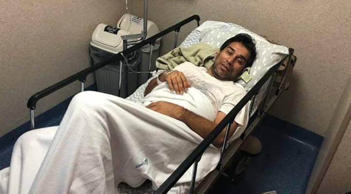 外媒:前上海国际前锋奎瓦斯患登革热入院治疗