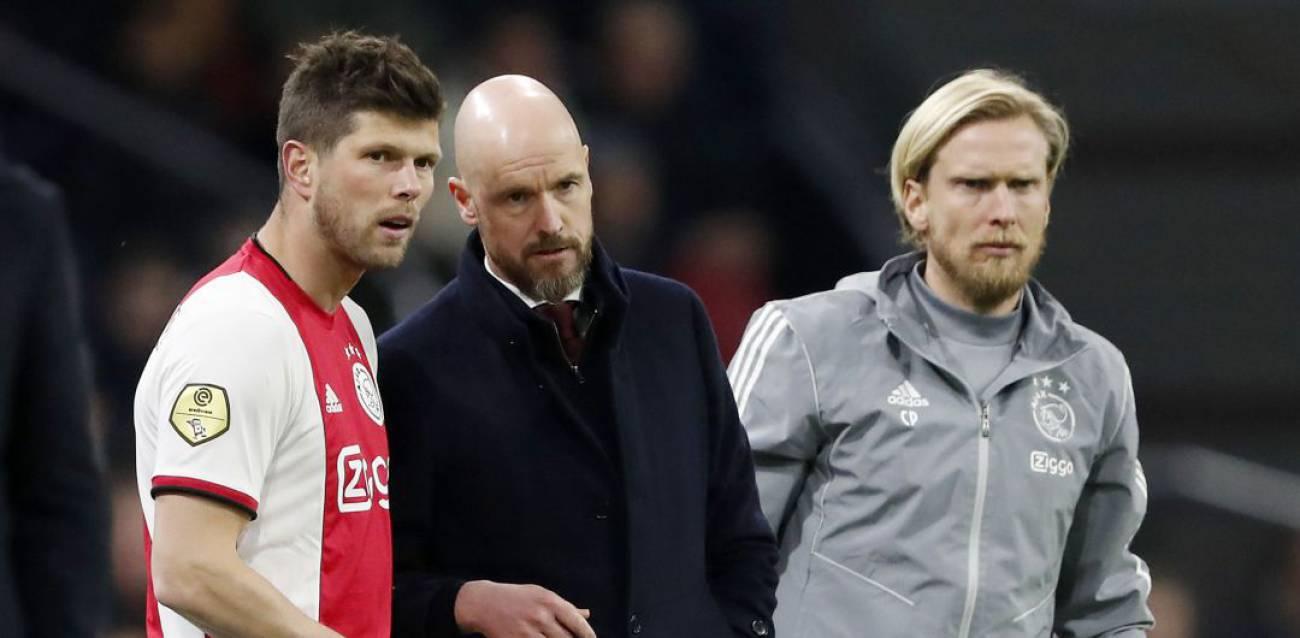阿贾克斯教练组三人被隔离,包括前丹麦国脚波尔森