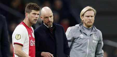 阿贾克斯教练组三人被隔离,包罗前丹麦国脚波尔森
