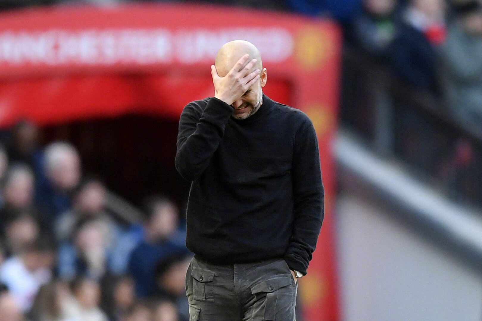 不敌曼联,瓜帅执教生涯首次单赛季三次输给同一个对手