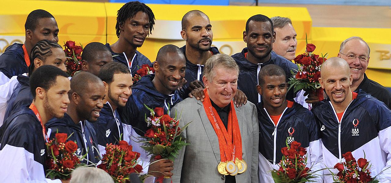 美国男篮总经理:篮球以及世界的首要任务是控制新冠病毒