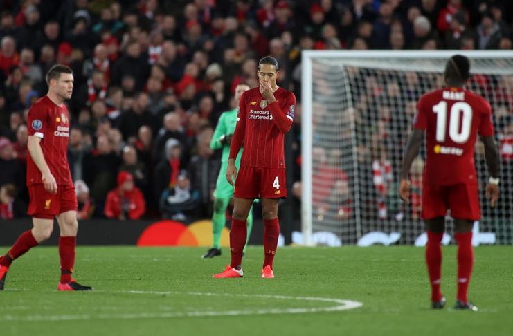差!利物浦热刺本赛季欧冠对阵五大联赛球队1平7负无胜绩
