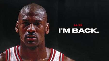 25年前的今天:乔丹宣布复出 I'm Back