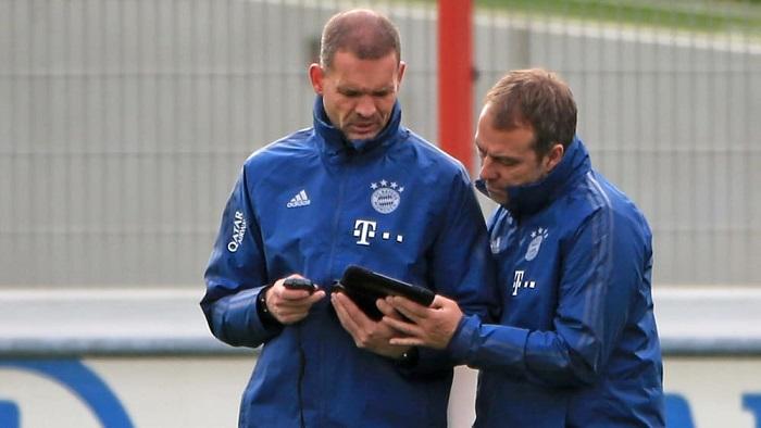 拜仁体能教练:球员们在线上训练,与平时的要求一样