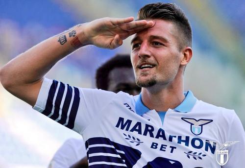 意媒:巴黎皇马和曼联都想今夏签米林,拉齐奥要价1.2亿