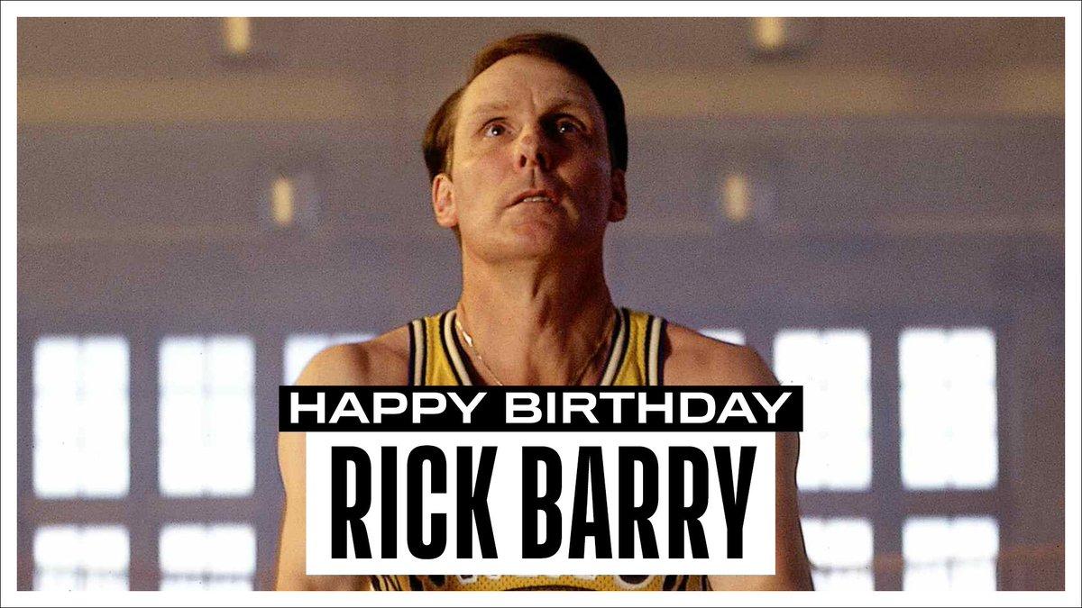 NBA官方祝NBA名宿里克-巴里76岁生日快乐