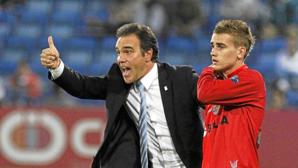前教练:格列兹曼在巴萨并不舒服,俱乐部给了他过多负担