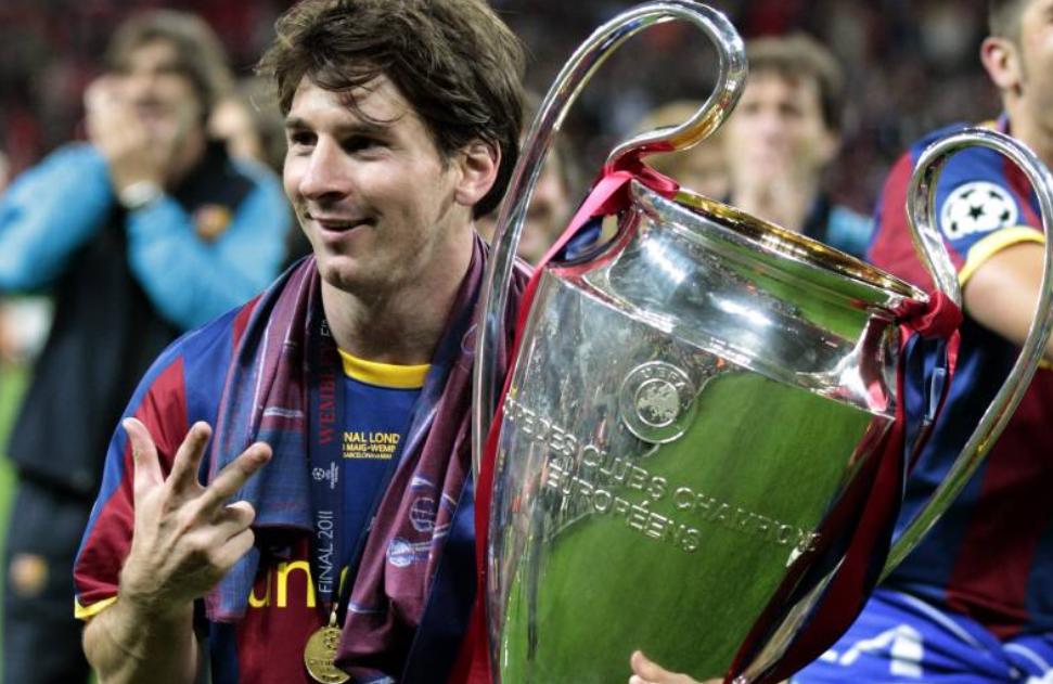 转会市场2010年球员身价榜:梅西成唯一亿元身价的球员