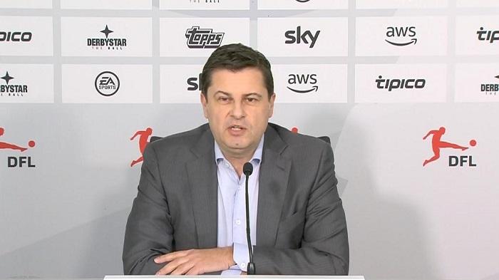 DFL主席:希望联赛6月30日前完成,暂不考虑提前结束